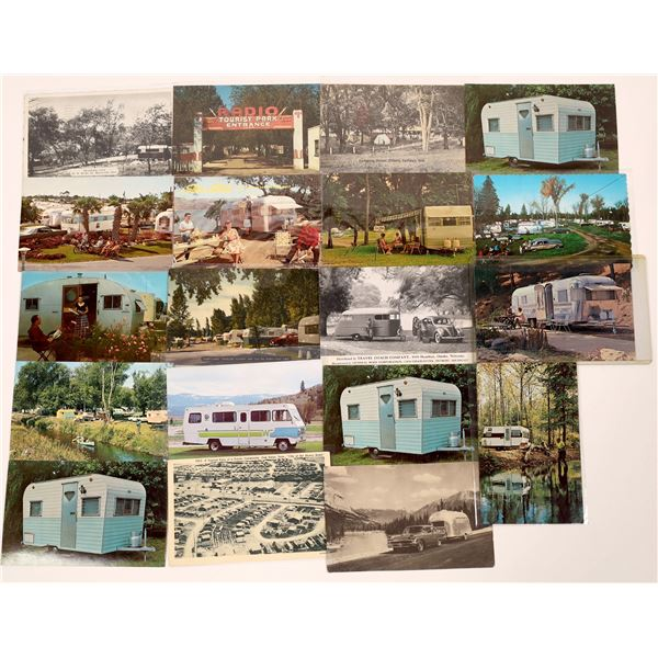 Trailers and the American Outdoor Life Postcard Collection  [130343]