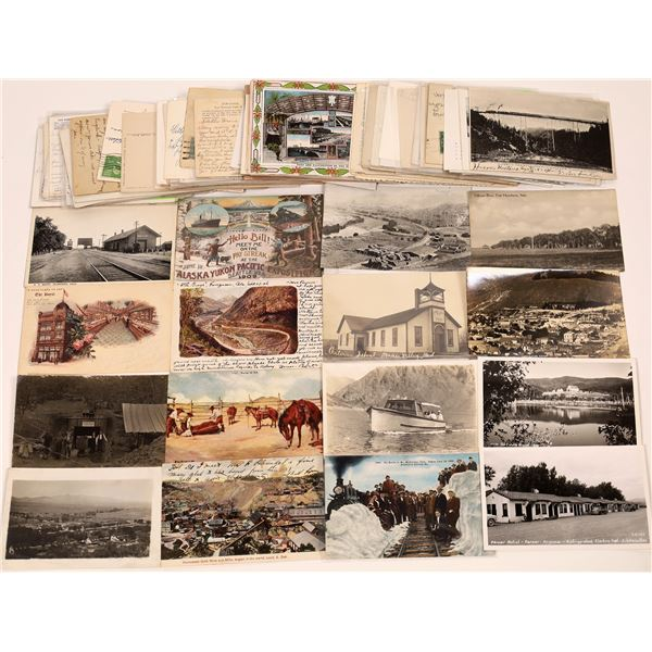 Western United States Postcard Collection – about 100!   [130424]