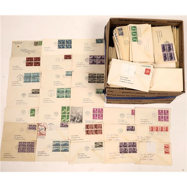 First Day of Issue Postmarked Envelopes (200)  [139235]