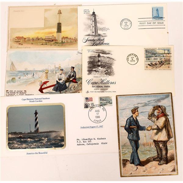 Miscellaneous Maritime Postal Ephemera (6)  [138138]