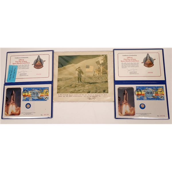 Space Shuttle and Apollo Postal Collectibles  [139313]