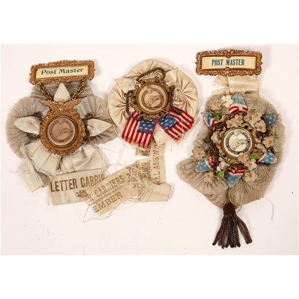 US Mail Membership Medals (3)  [139210]