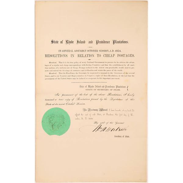 Original Petition to Reduce Overseas Postage  [139221]