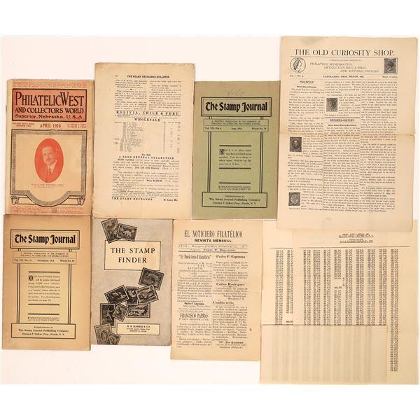 Antique Stamp Catalogs  [139025]