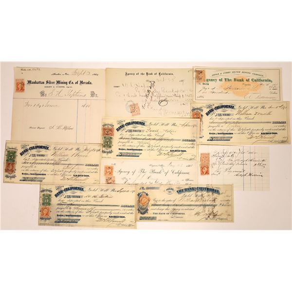 Nevada Revenue Stamp Collection  [138459]