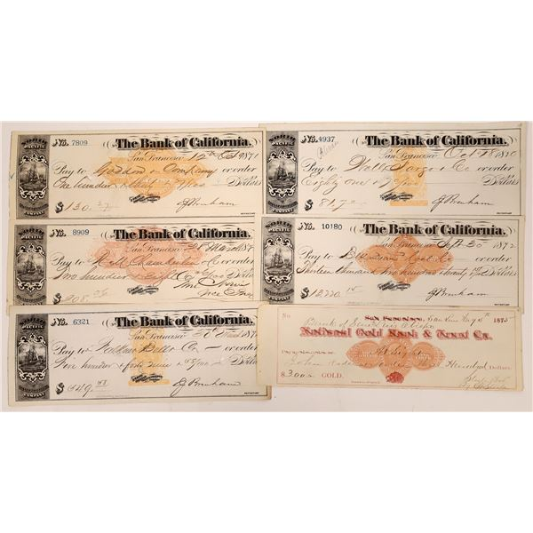 Imprinted Revenue Stamp Check Collection  [138464]