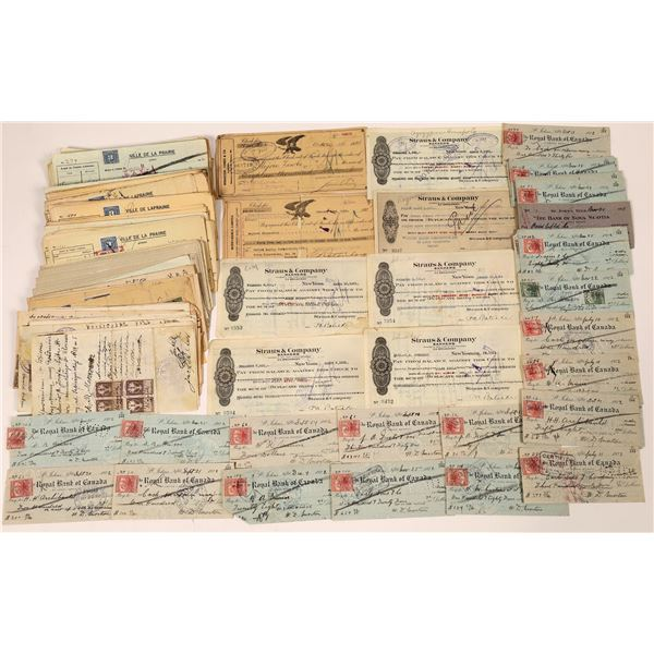 Foreign Revenue Stamp Collection  [139195]