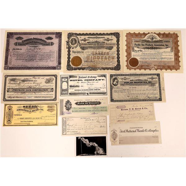 California Ephemera Collection  [139850]