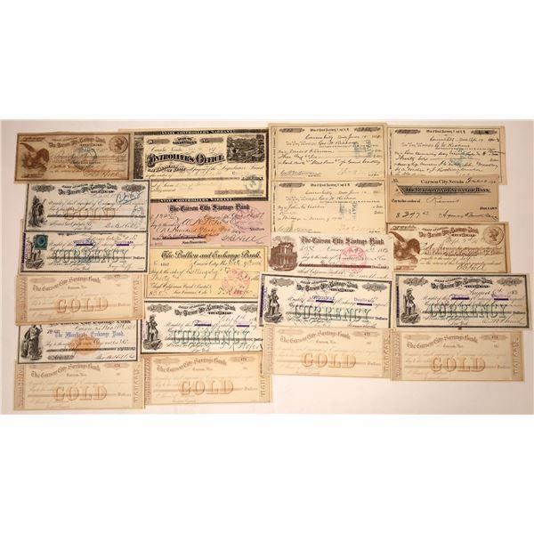Carson City Ephemera Collection  [138458]