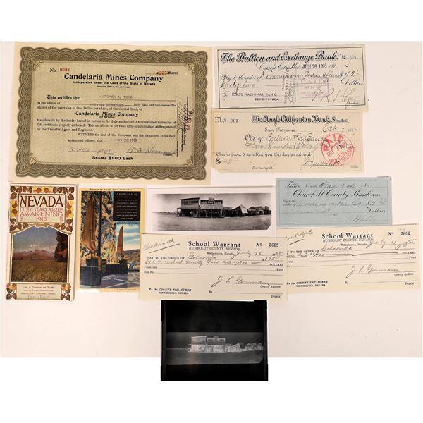 Nevada Ephemera Collection  [139849]