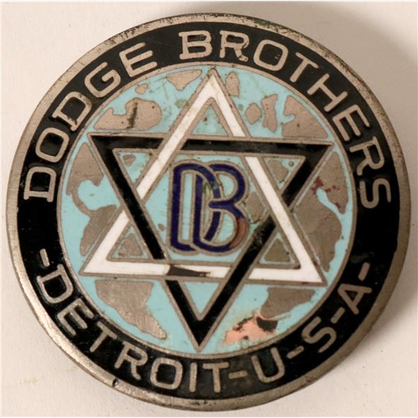 Early Dodge Brothers Truck Emblem  [138206]