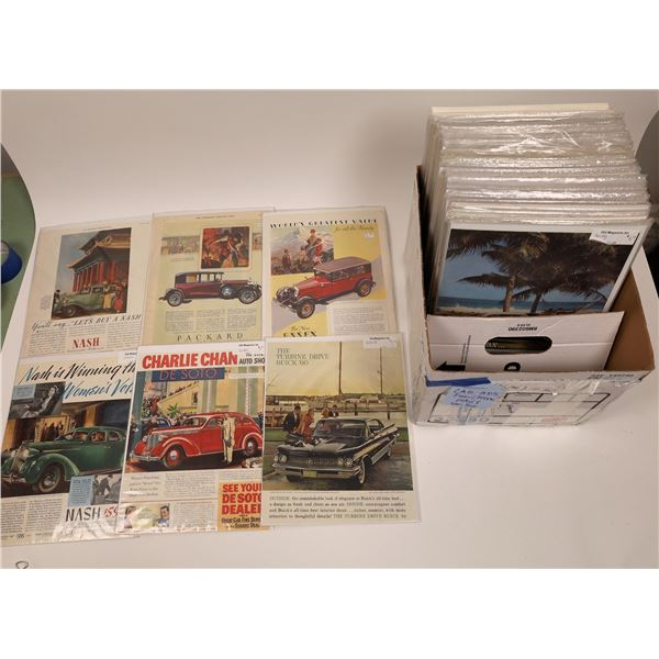 Classic Automobile Advertising Collection (200+ pieces)  [140748]