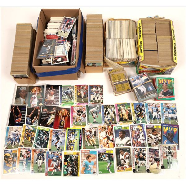 Baseball Cards, NFL Football Cards, and Cards from the NBA  [138423]