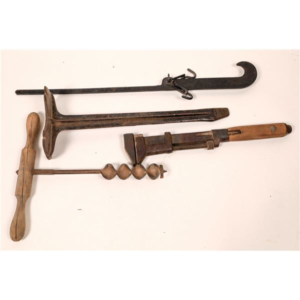 Antique Tool Group (4)  [139900]