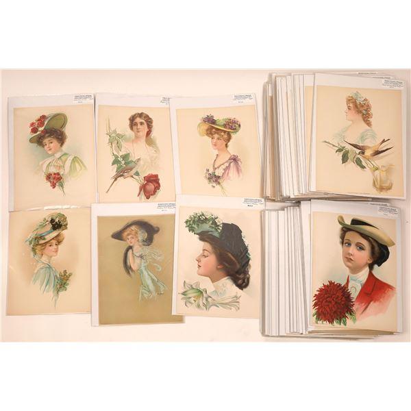 Victorian Lithograph Collection (120+ Original Lithos)  [140691]