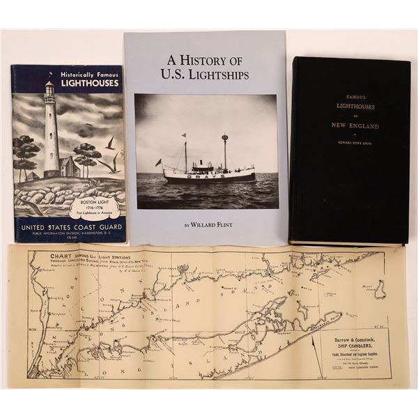 U.S. Lighthouse & Lightship Related Publications (4)  [139074]