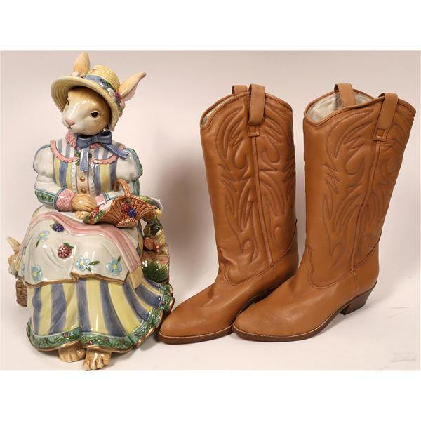 Cowboy Boots & Cookie Jar  [139872]
