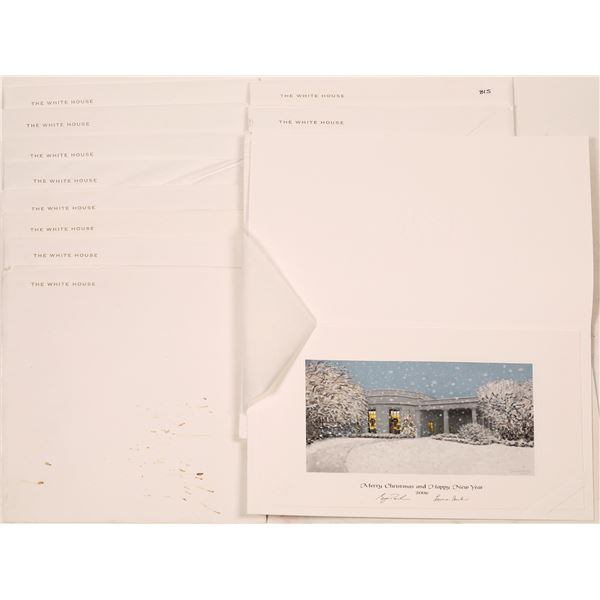 White House Christmas Card Collection (14)  [139799]
