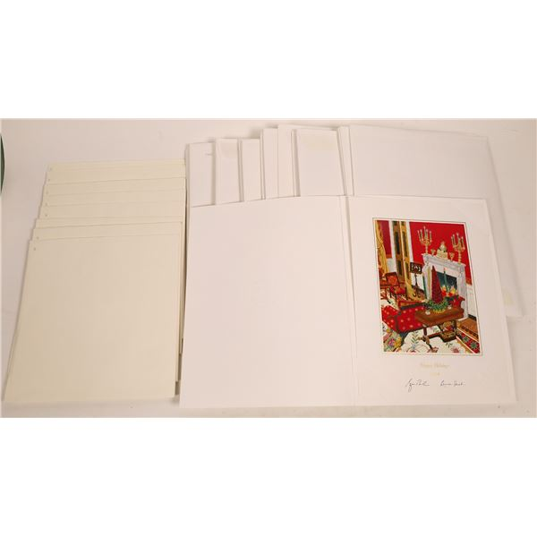 White House Christmas Card Collection (37)  [139801]