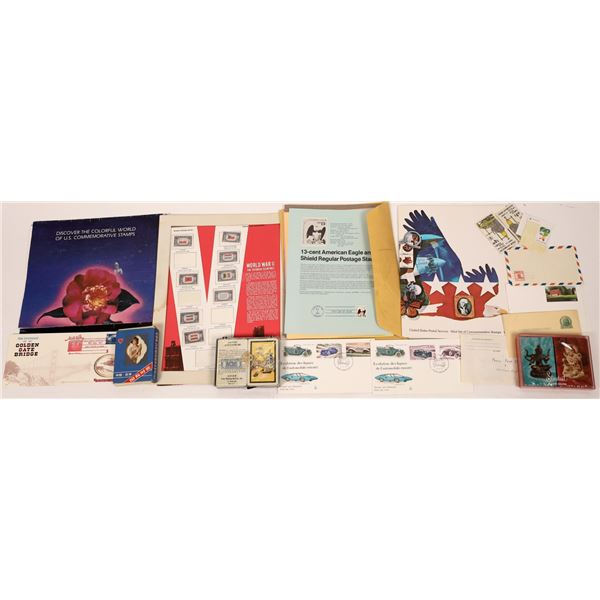 Grab Bag of Playing Cards, Stamps & More  [127021]