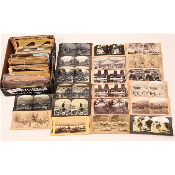 Stereo View Card Collection Miscellaneous  [139768]