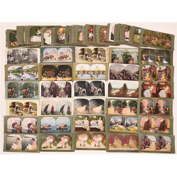 Stereo View Card Collection Miscellaneous  [139771]