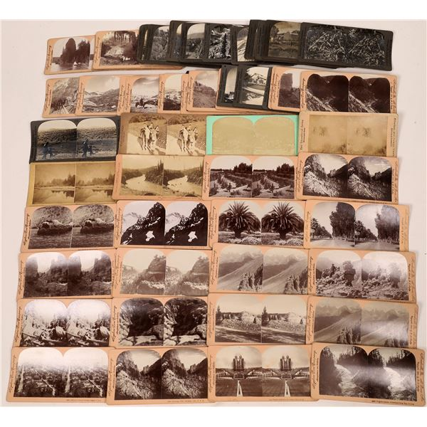 Stereo View Card Collection Western U.S.A.   [139773]