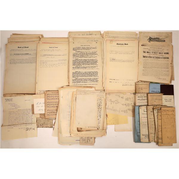 Antiquarian Document Grab Bag  [138499]