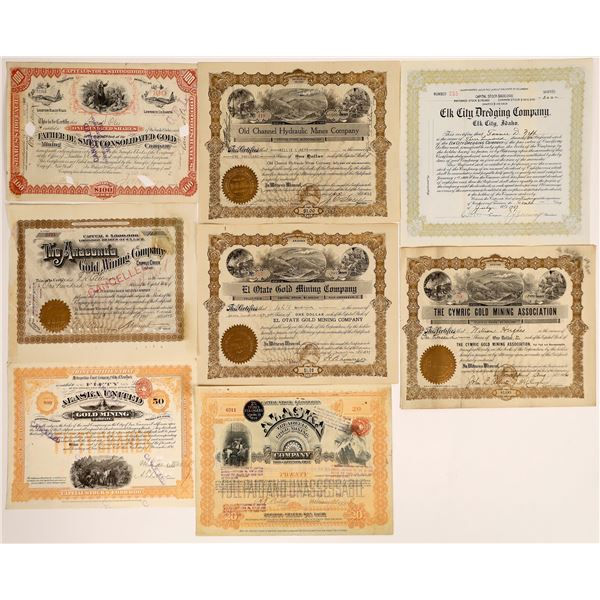 Gold Mining Stock Collection  [130568]