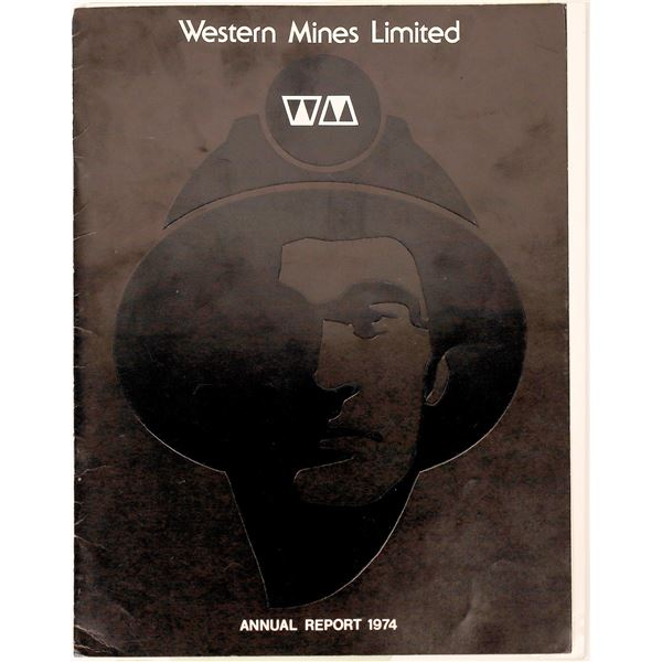 Western Mines Limited Booklets and Ephemera  [130480]
