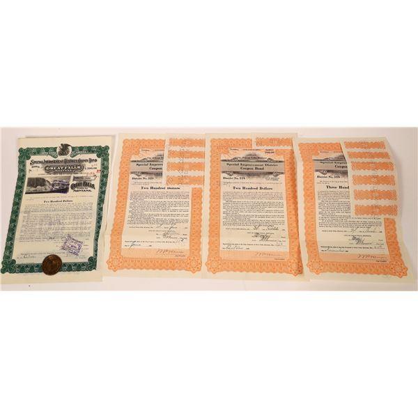 Lucky Seven Great Falls Bond Certificates  [140044]