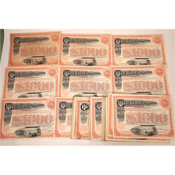 West Shore Railroad Company First Mortgage Guaranteed Bond Certificates  [138514]