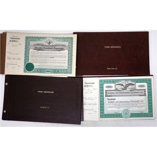 Miscellaneous Stock Certificates (151)  [139272]