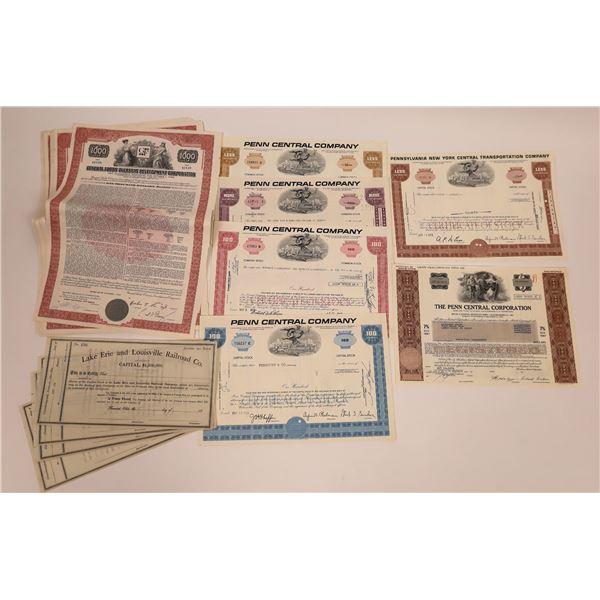 Stock Cert Lot for Dealers  [141130]