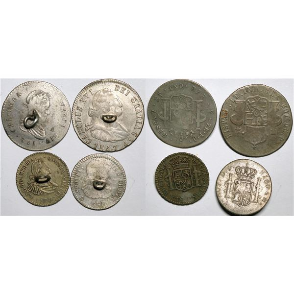 Mexican Coin Buttons  [138198]