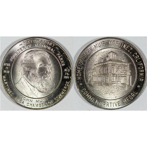 John Muir Commemorative Medal  [140688]