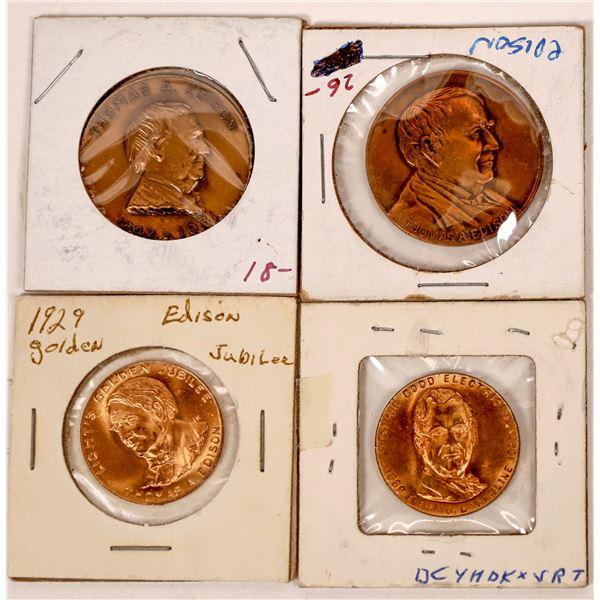 Thomas Edison Medals  [139404]