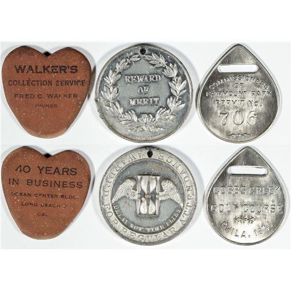 Odd Medals  [139390]