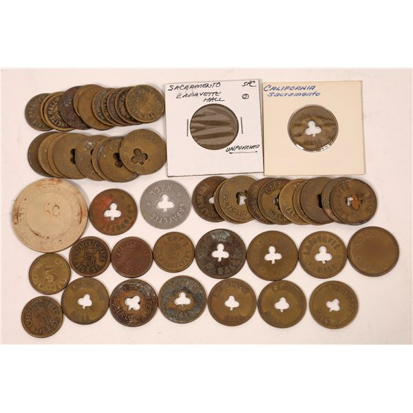 Lafayette Hall Tokens and Gaming Chip  [139408]