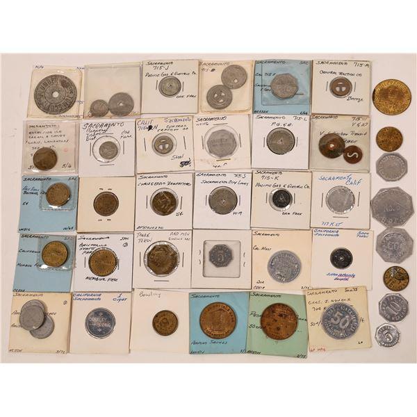 Miscellaneous Sacramento Token Collection  [138732]
