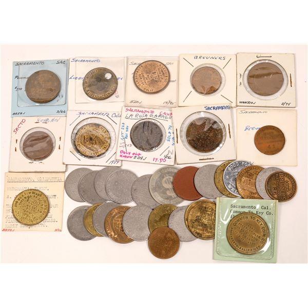 Sacramento Large Size Token Collection  [139411]