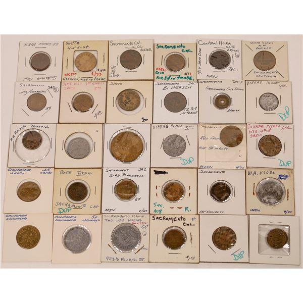 Sacramento Token Collection  [139412]