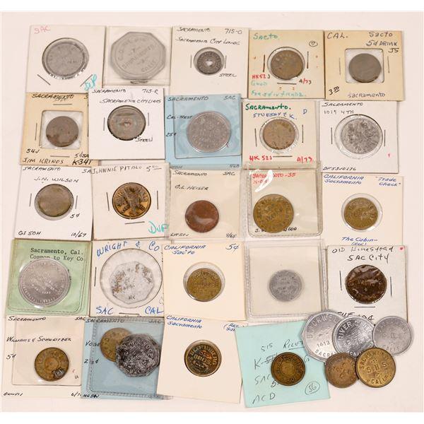 Sacramento Token Collection  [139413]