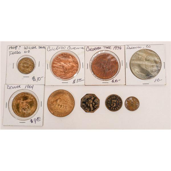 Colorado & Dakota Token and Medal Collection  [141195]