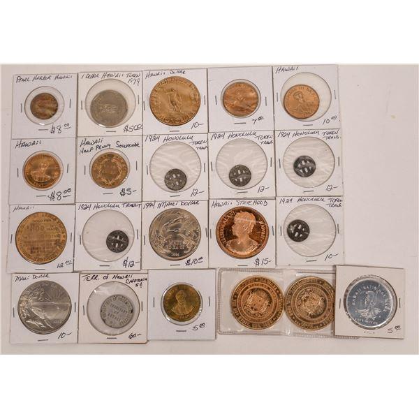 Hawaiian Token and Medal Collection  [141194]