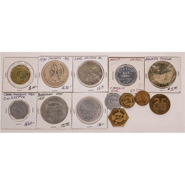Montana, Idaho & Arizona Token Collection  [141192]