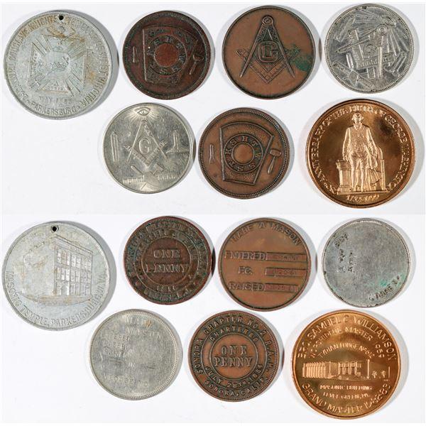 Masonic Token Collection  [141189]