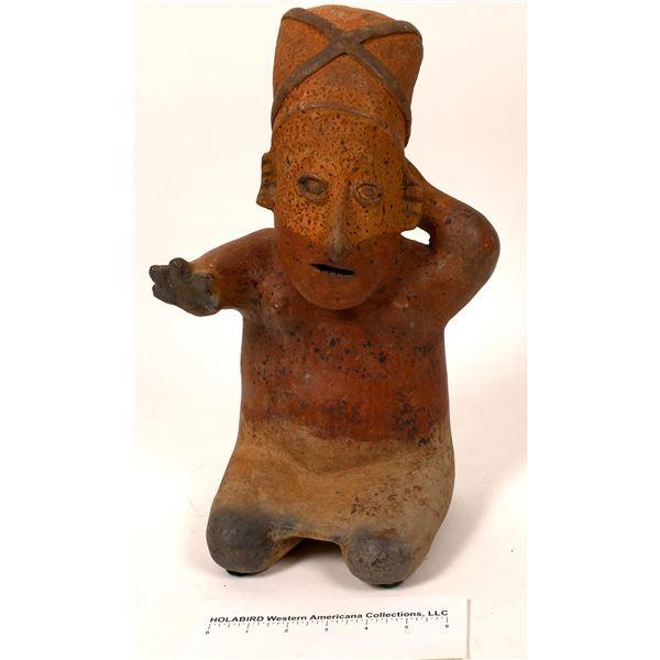 Nayarit (?) Human Figural Terra Cotta Sculpture [118171]