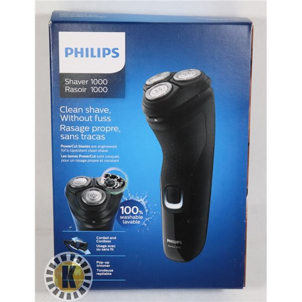 NEW PHILIPS SHAVER 1000