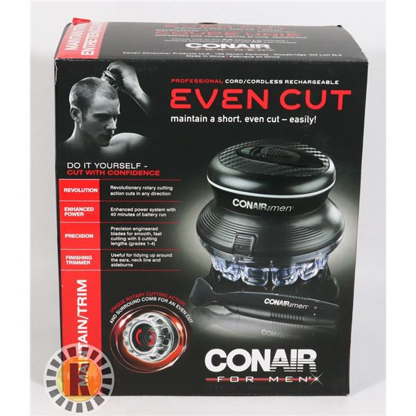 NEW CONAIR FOR MEN EVEN CUT MAINTAINER/ TRIMMER